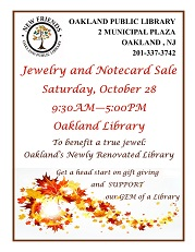 Jewelry and Notecard Sale