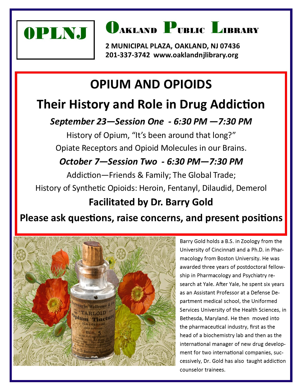 Opium and Opioids Their History and Role in Drug Addiction
